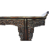 heavy carved altar table