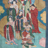 Large Chinese Canvas Art of Characters of Investiture of the Gods cs4612S