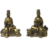 bronze Kwan Yin statue - Bodhisattva statue - Goddess of Mercy - Goddess of compassion