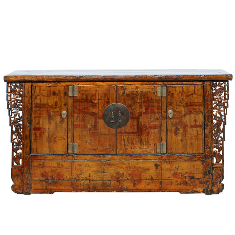 Antique Chinese carve cabinet