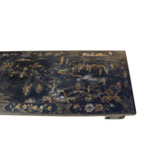 Chinese gold painted rectangular table