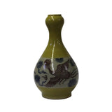 feng shui - gift - collectible vase- bird painting