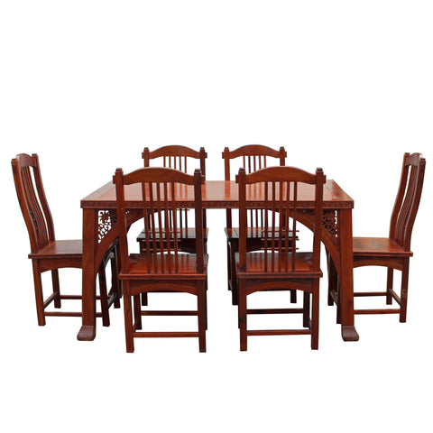 dining table - Rosewood -  rectangular