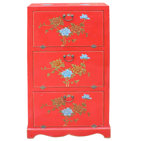 storage cabinet - Chinese cabinet - red cabinet
