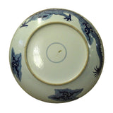 Chinese Blue White Dragon Painting White Porcelain Charger Plate cs5059S
