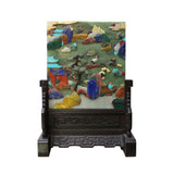 desktop panel - Chinese art - stone plaque