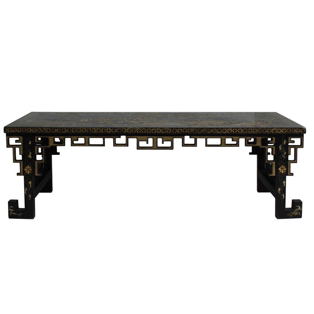 Wondrous Chinese Lacquered Song Ming Style Low Kang Table Zither Stand Cs5113S Pdpeps Interior Chair Design Pdpepsorg