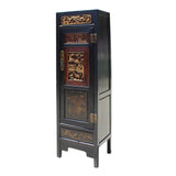 storage cabinet - Chinese cabinet - brown cabinet