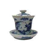 Asian blue and white cup