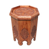 asian table - octagon table - pedestal table