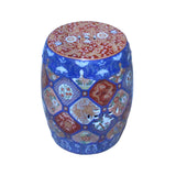 Chinese Imari - Imari Porcelain stool - Ceramic Ottoman Table