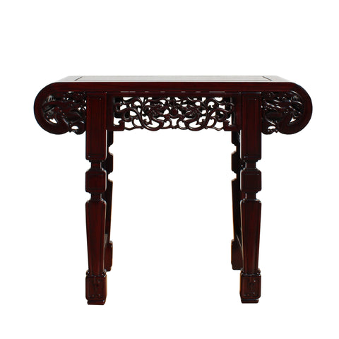 altar table - slim table - foyer table
