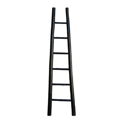bamboo ladder - ladder hanger - wall panel - ladder shelf