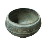 Chinese Oriental Green Bronze-ware Incense Holder Home Decor Display cs5296S