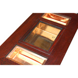 Oriental Rectangular Bold Thick Wood Drawers Coffee Table cs5305S