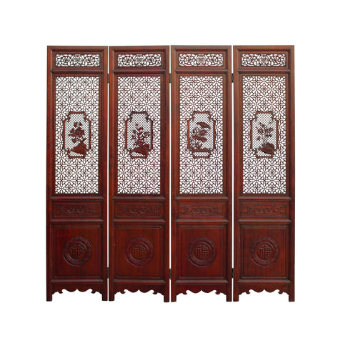 oriental screen - floor panel - room divider