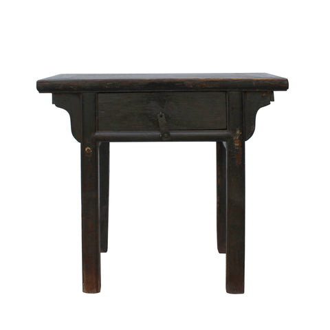 foyer table - rustic vintage chest - console table