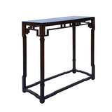 Chinese Brown Huali Rosewood Ming Style Apron Side Altar Table cs5354S