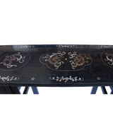 Chinese Brown Huali Rosewood Dragons Inlay Motif Altar Table cs5355S