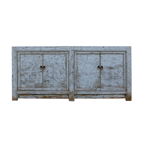 white console - sideboard - credenza