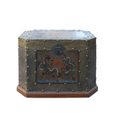 trunk - dragons - wooden chest