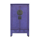 purple cabinet - armoire - wardrobe