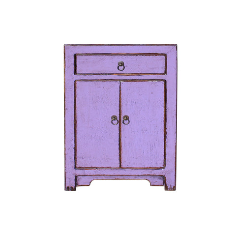 grape purple - end table - nightstand