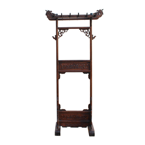 clothes rack - entrance dress hanger - oriental room divider