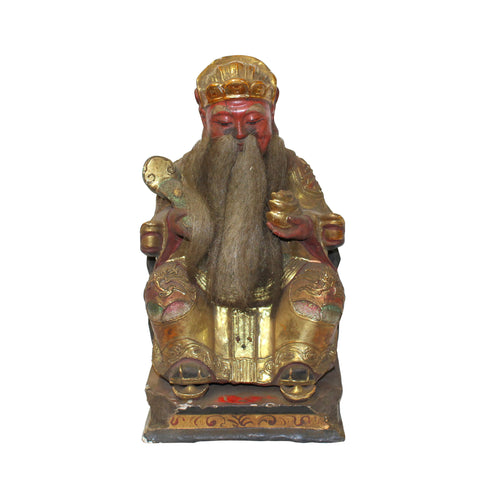 god of fortune - ancient deity figure - Chinese home guardian