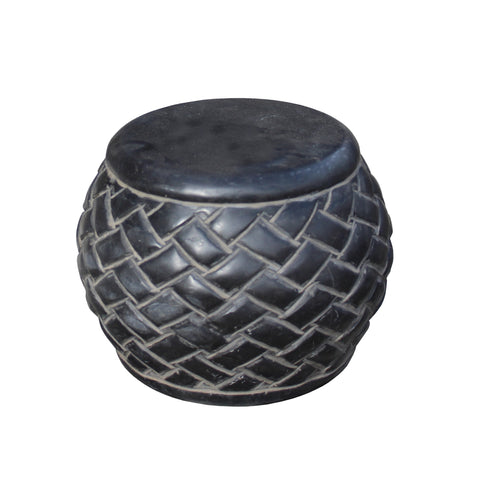 stone display - Fengshui - round stand