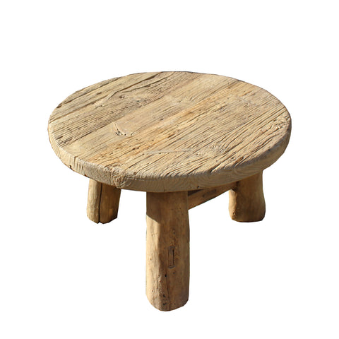 coffee table - kang table - rustic wood table