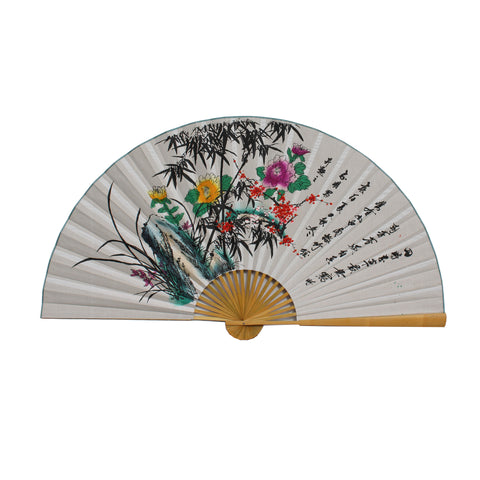wall Painting - Fan shape painting - Chinese painting