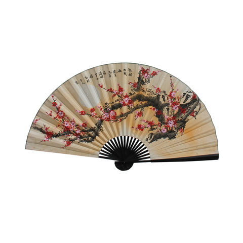 fan shape - blossom flower - Wall art