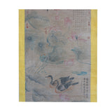Chinese Birds Color Ink Scroll Painting Museum Quality Wall Art cs5644S