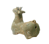 Pottery Ceramic Display Figure Statue Chinese Ancient Lamb cs569S