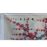 Chinese Color Ink Blossom Flower Horizontal Scroll Painting Wall Art cs5708S