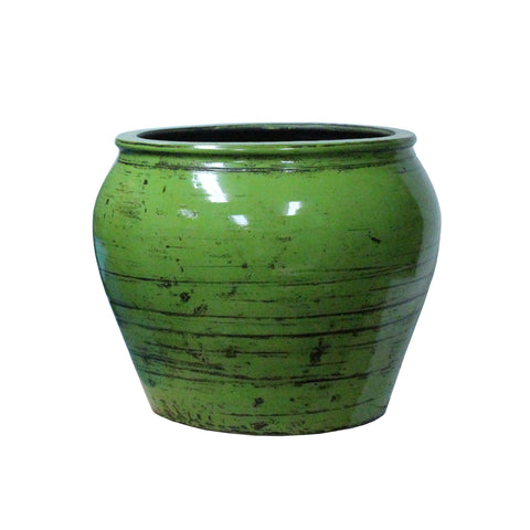 ceramic container -  clay jar - Chinese ceramic