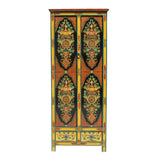 tibetan cabinet - slim cabinet - 8 treasure graphic