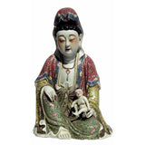 antique porcelain Kwan Yin statue