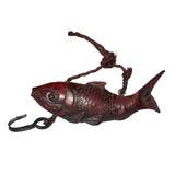 red fish - wood fish - fishing bait