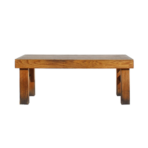 bench - old stool - double seat