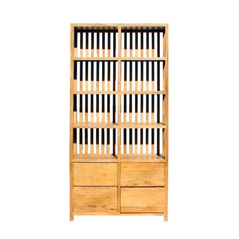 bookcase - display cabinet - wood cabinet