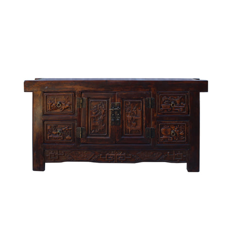 TV console - fujian table - low credenza cabinet