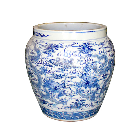 planter - flower pot - Chinese pot