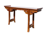 Chinese Rosewood Ru Yi Dragon Altar Console Table cs628S