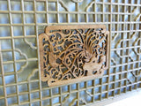 wood carved wall panel