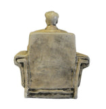 Chinese Clay Chairman Mao Sitting Display Figure cs712-2S