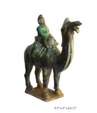 ceramic camel - Chinese camel - Clay Camel