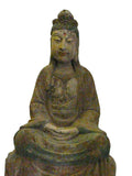 Wood carved Kwan Yin
