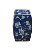 Chinese Blue & White Porcelain Square Blossom Stool cs984-5S